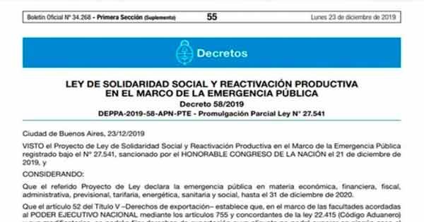 ley de solidaridad social