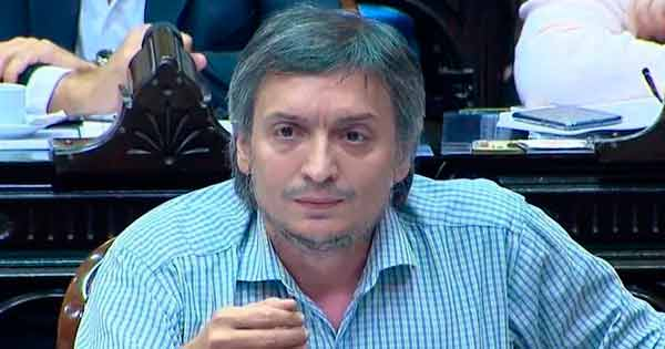 discurso de Máximo Kirchner