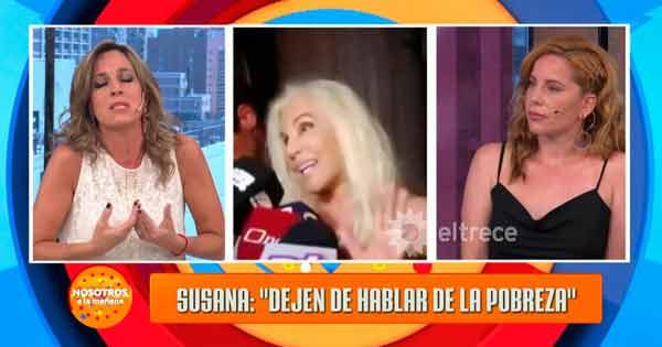 críticas a Susana Giménez