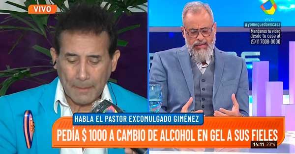 Rial cruzo al Pastor Giménez