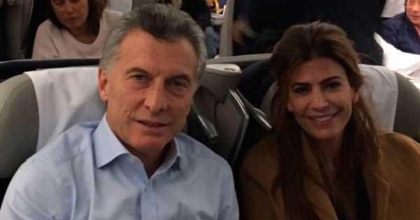 Escrache a Mauricio Macri