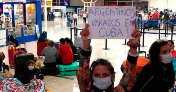 argentinos varados en el exterior