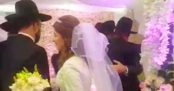 boda judía ortodoxa