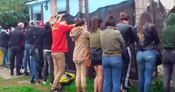 24 jóvenes fueron detenidos