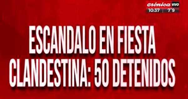 50 detenidos