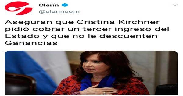 repudiable título de Clarín