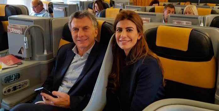 Mauricio Macri se fue del país