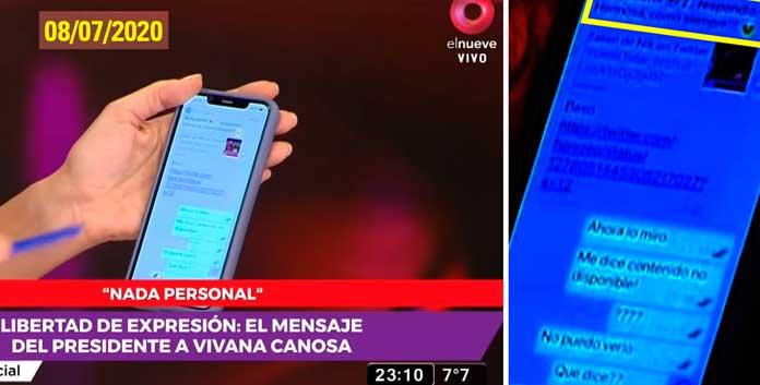 la opereta de Viviana Canosa