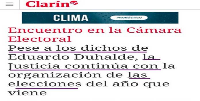 La nota de Clarín que provoca indignación