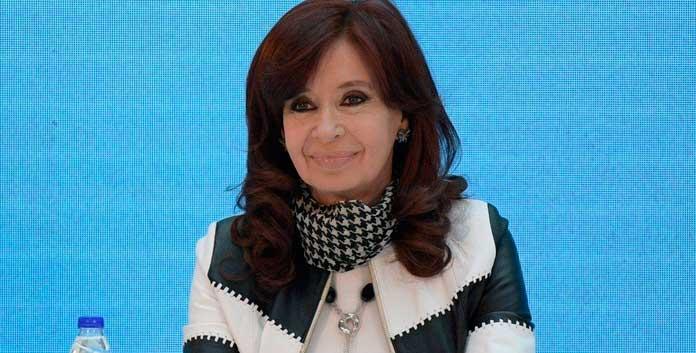 La foto viral de Cristina Kirchner
