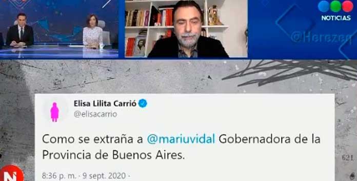 dejo sin palabras a Cristina Pérez