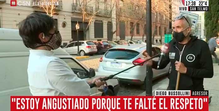 Robertito Funes Ugarte con Diego Bussollini