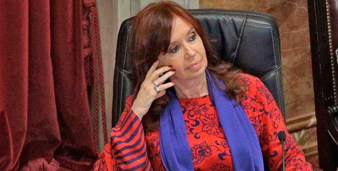 Cristina Kirchner ubico a la oposición