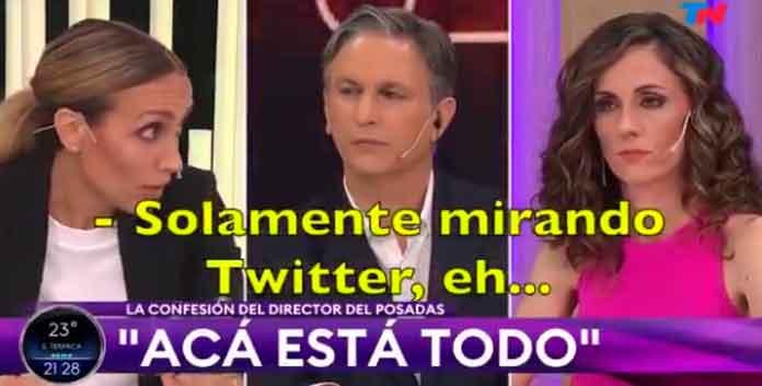 solamente mirando Twitter
