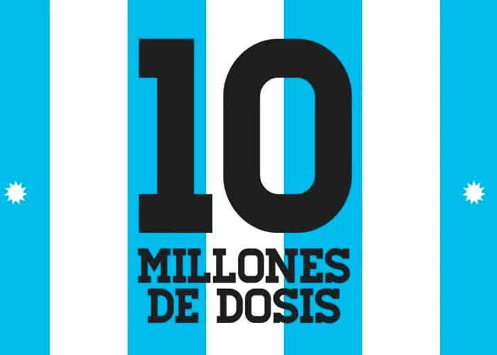 10 millones de vacunas
