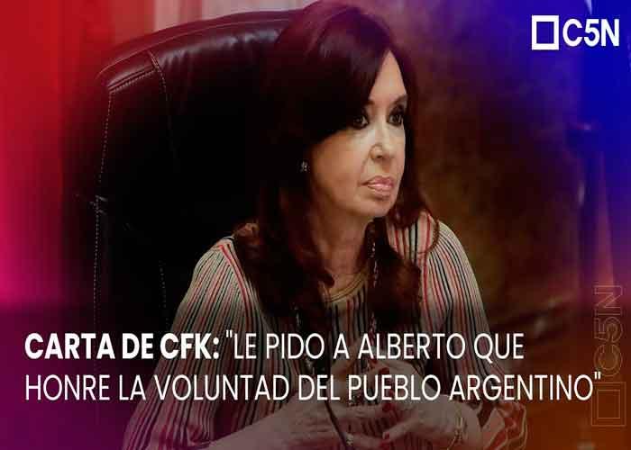 La carta de Cristina