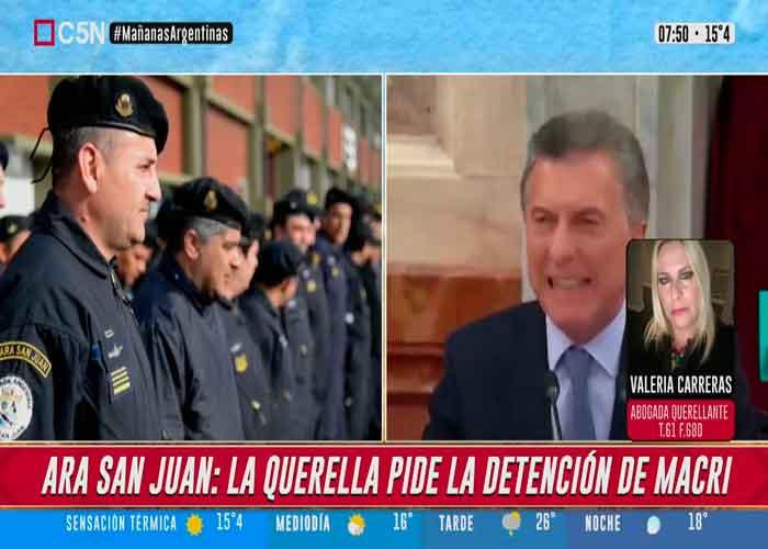 Piden la detención de Mauricio Macri